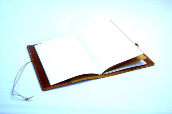 Lederbücher Lederhülle