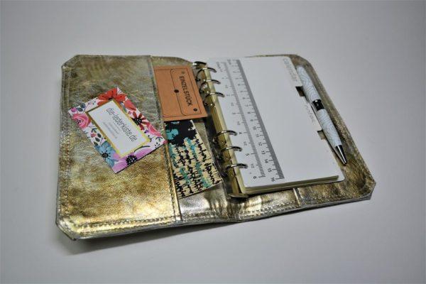 Scrapbook Timer Lederjournal
