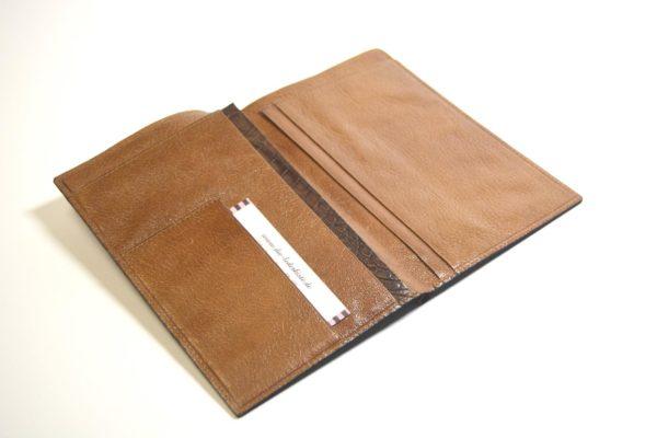 Brieftasche Wildkroko