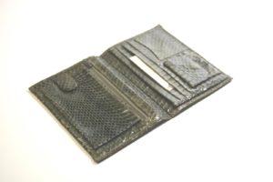 Brieftasche Schlangenleder