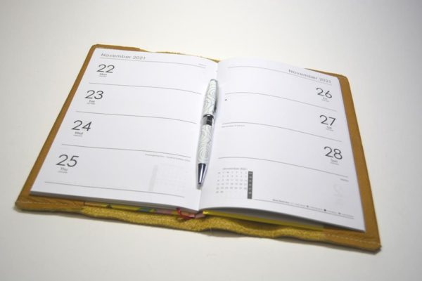 Kalender Led Hefthülle Traveller